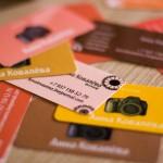 Цветные визитки г. Черкассы
