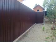 Встановлення парканів з профнастилу