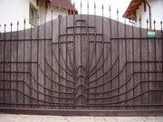 Кованные ворота г. Умань