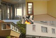 Кровля,  ремонт балконов,  строительство и ремонт,  утепление фасадов,  электромонтаж   в  Черкассах.