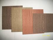 Профиль фасадный из древесно-полимерного композита