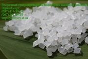 Вторичная гранула,  регранулят полимеров ПЭВД,  ПЭНД,  ПС,  полипропилен