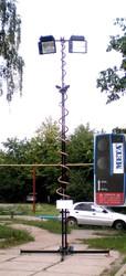 Мачта телескопическая для видеокамер МТВ
