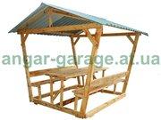 Беседки деревянные для дома и дачи