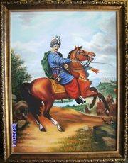 Картина Иван Богун полковник Войска Запорожского