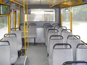 Восстановление и замена пассажирских сидений автобуса Эталон.