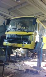 Капитальный ремонт кузовов автобусов