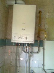 Установка  котлов + газопровод + отопление в Черкассах