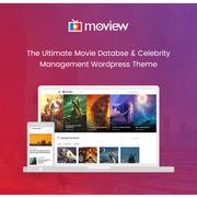 Moview видео шаблон для сайта
