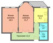Продается 2 комнатная квартира в новом доме в центре г. Черкассы