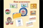 Продам натуральный сыр и фасованное сливочное масло от производителя