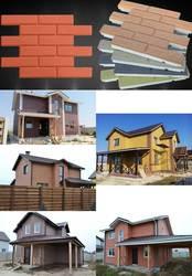 Наружное утепление стен и фасадов термопанелями