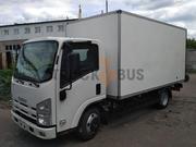Автомобиль грузовой ISUZU NPR 75L-K/M - промтоварный фургон