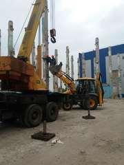 Демонтаж промышленныз зданий и сооружений.Земляные работы