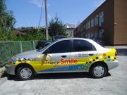 Брендирование авто,  наружная реклама на автотранспорте