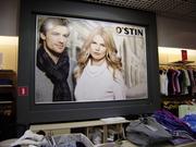 Оформление торговых залов,  реклама внутри магазинов
