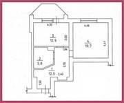 Продається 1 кімнатна квартира в новому будинку,  Центр