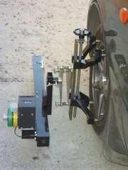 Лазерный стенд развал-схождения Вектор-СКВО-1м