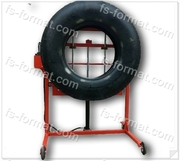 Тележка гидравлическая для грузовых колес
