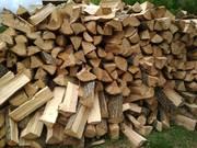 Продам дрова рубані акація,  дуб,  граб,  ясен