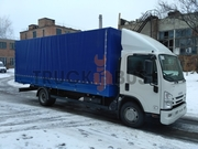 Автомобиль грузовой ISUZU NQR 90 L-K/M –борт-тент