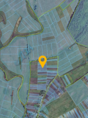 участок в селе Коробовка
